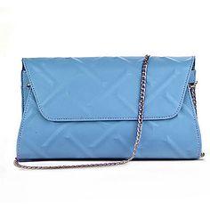 Women PU Sling Bag Shoulder Bag - Purple / Blue / Yellow / Black 4801763 2016 – €27.43 Purple Bags, Purple Yellow, Yellow Black, Online Bags, Evening Bags, Plaid, Shoulder Bag, Stuff To Buy, Women