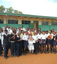 Obakeng Village School at Madikwe No Response, Community, Good Things, School, People, Life, Collection, People Illustration, Folk