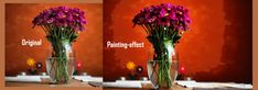 How to Apply Watercolor Painting Effect with Adobe Photoshop Photo Retouching, Photo Editing, Color Correction, Adobe Photoshop, Watercolor Paintings, Glass Vase, How To Apply, Create, Home Decor