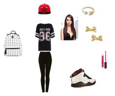 """""""chi-town"""" by mindlessmimi143 ❤ liked on Polyvore featuring Quiz, Topshop, Retrò, EF Collection, Kate Spade, MCM and Stila"""