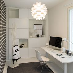 25_cubo_vat6264 Home Office, Office Spaces, Makeup Room Decor, Feminine Office, Teenage Room, Study Rooms, Kids Room Design, Next At Home, White Decor