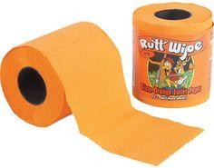 I want orange toilet paper !!!!!!