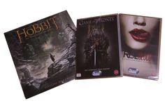 SY Elokuva & TV Teema helmikuu 2014. The Hobbit: The Desolation of Smaug -seinäkalenteri ja sekä Game of Thronesin että True Bloodin ykköskauden boksit!