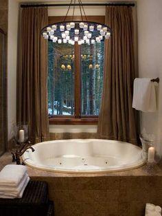 glamorous bathtub