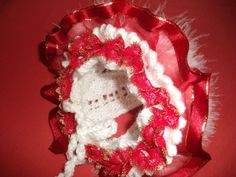 Christmas Hat - Knitting creation by mobilecrafts Knitting Daily, Christmas Hat, Beanies, Daily Inspiration, Knitted Hats, Community, Ideas, Beanie Hats, Beanie