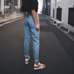 adidas Originals Campus Burgundy Suede Trainers| Urban Outfitters | Women's | Shoes | Trainers via @pepamack #UOEurope #UrbanOutfittersEU #UOonYou
