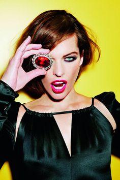 Milla Jovovich for Marie Claire Russia by Ellen von Unwerth