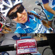 Unica cicloturistica dell'anno a cui partecipo  100km sulle strade su cui mi alleno tutto l'anno  #ciclismo #bike #lovebike #ilovebike #bici #bicidacorsa #bdc #bicidastrada #strava #queidelgarmin #strada #cicloturismo #cicloturistica #marche #fermo #fermobike #italy by la_tedeschina
