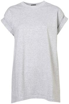 if I had skinnier arms this #topshop Oversized Roll Sleeve Tee would work