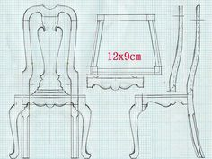 椅子QEEN ANN chair