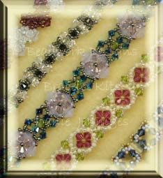 Beadwork Designs by Joanie Jenniges  -Available Bracelet Patterns