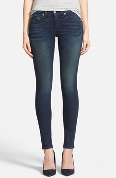 rag+&+bone/JEAN+'The+Skinny'+Jeans+(Saxby)+(Nordstrom+Exclusive)+available+at+#Nordstrom