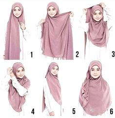 Pinned by – Hijab+ – Hijab Fashion 2020 Stylish Hijab, Casual Hijab Outfit, Hijab Chic, Hijab Dress, Square Hijab Tutorial, Hijab Style Tutorial, Pashmina Hijab Tutorial, How To Wear Hijab, How To Wear Scarves
