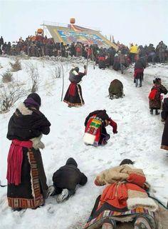 Tibet - dévotion.