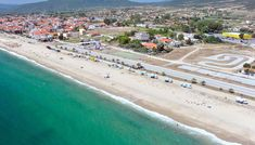 Asprovalta is now a major tourist resort on the Strymonikos Gulf, hosting thousands of visitors during the summer season. Green Mountain, Short Trip, Thessaloniki, Archaeological Site, During The Summer, Macedonia, Beautiful Beaches, Greece, Tourism