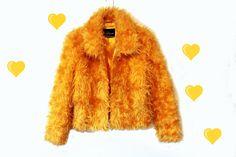 90 s veste Zip floue Orange néon par BABYDRAGONZ sur Etsy