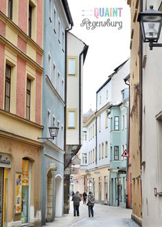 Quaint Regensburg, Germany