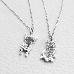 925 benutzerdefinierte Hund Portrait Halskette Pet Portrait | Etsy Picture Necklace, Dog Necklace, Pendant Necklace, Silver Cat, Gifts For Pet Lovers, Cat Lovers, Pet Gifts, Personalized Necklace, Animal Jewelry