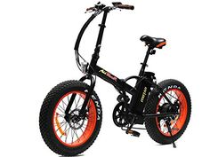 Addmotor MOTAN Folding Electric Bikes 20Inch Fat Tire 500W 48V 4 Colors Mountain Electric Bicycles M150 Ebike Maximum Load Up to 300lbsBlack -- Visit the image link more details. Note: It's an affiliate link to Amazon