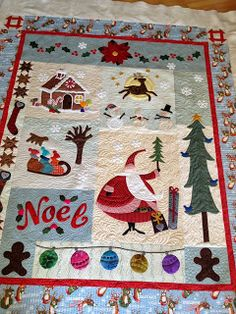 Sewing & Quilt Gallery: It's Beginning to Look a Little like Christmas