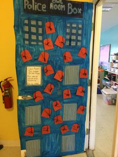 Dr. Who classroom door idea