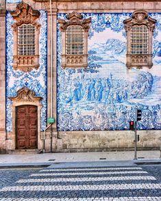 Os 7 painéis de azulejos mais bonitos de Portugal | VortexMag Francisco Pereira, Portugal, Douro, City Photo, Dashboards, Interior Walls, Baroque, Tiles, Architecture