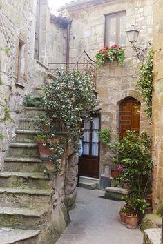 Pitigliano Grosseto Toscana Italia t pica casa antigua Foto de archivo
