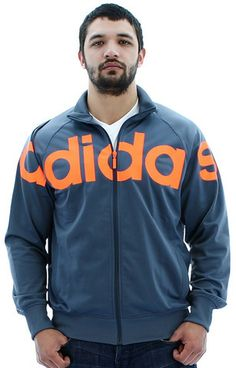 Adidas Original Big Logo Tricot Men's Track Jacket Warm Up Coat   Streetmoda. Browse Men's Outerwear http://www.streetmoda.com/collections/mens-outerwear-on-sale