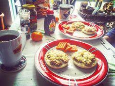 ☕️ #breakfast #saturday