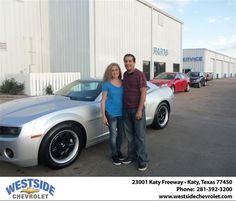 #HappyBirthday to Marcela Fernandez from Arturo Urquiola  at Westside Chevrolet!