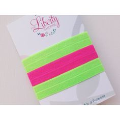 Neon Collection- 3 Elastic Hair Ties on Etsy, $5.00 Sales help fight against human trafficking!
