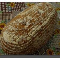 Kváskový chleba 1-2-3 s ovesnýma vločkama