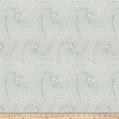 Fabricut Anytime Swirl Teal from @fabricdotcom  This beautiful very heavyweight fabric features a geometric / abstract embroidery throughout. Perfect for draperies, swags, duvet covers, shams, toss pillows, and light upholstery projects.
