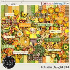 Autumn Delight Kit by Keley Designs