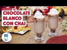 ¿Cómo preparar Chocolate Blanco con Chai? - Cocina Fresca - YouTube