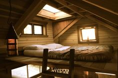 Loft design for a Tiny House - I like the wide dormer idea for the headboard of the bed...especially with the window on top to make a skylight.