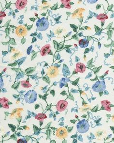 Pattern34 a deceptively complex floral pattern.