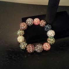 I just discovered this while shopping on Poshmark: Multi colored beaded stretch bracelet. Check it out!  Size: OS