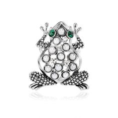 Shop for Frog Scarf Slide, OKA Jewelry Pearl Frog Scarf Ring Slide Silver is crafted in silver plated. Scarf Rings, Brooch, Pearls, Silver, Hermes, Jewelry, Fashion, Moda, Jewlery