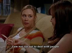 "I am not cut out to deal with people - 17 Moments When Paris Geller From ""Gilmore Girls"" Was Totally Relatable"