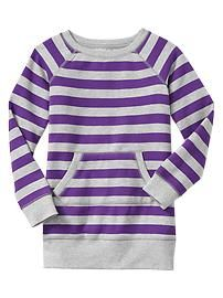 Striped pullover dress