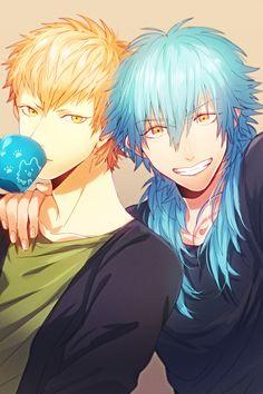 aoba and noiz anime; Dramatical Murder