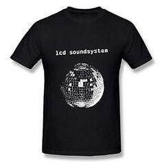 Amazon.com: ZEKO Men's T-shirts Lcd Soundsystem Lcd Soundsystem Black: Clothing