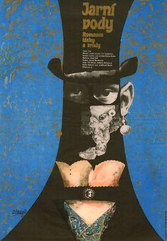 By Karel Teissig, 1 9 6 8, Jarní vody (film poster).