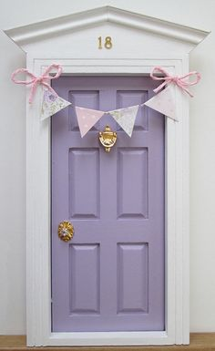 For Aly!!! Tooth Fairy door by Lapicesdecolores on Etsy