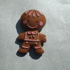Vintage Avon Gingerbread Perfume Pin Brooch Christmas Xmas. Etsy.com