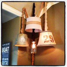 Make your own vintage lighting