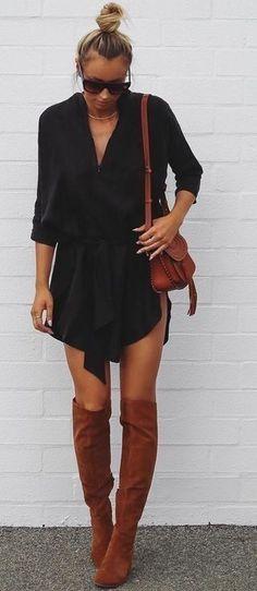 #summer #fblogger #outfits | Black + Camel                                                                             Source