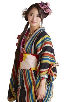 Yukata, Classic Beauty, The Past, Alice, Kimono Top, Beautiful Women, Saree, Actresses, Actors
