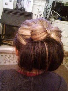 Bow hair up